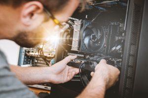 consertar placa de vídeo